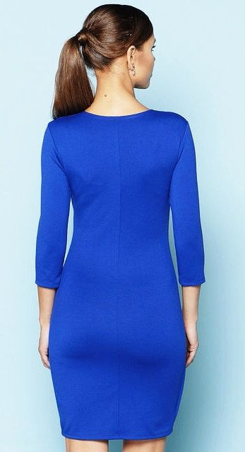 Cobalt blue Every day blue dress for women Office от Annaclothing