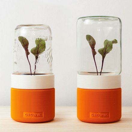 GROWW, A 3D Printed Minimalist Greenhouse http://3dprint.com/89229/groww-3d-printed-greenhouse/