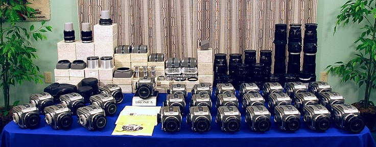 Bronica Collection  WOW