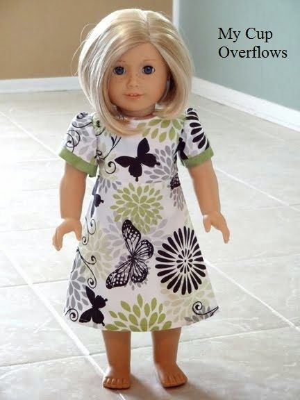 "28 free 18"" doll patterns Living A Doll's Life : FREE Patterns"