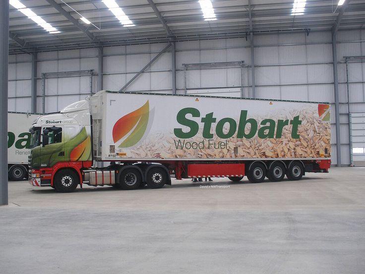 Eddie Stobart, Wood Fuel Trailer - StobartFest, Carlisle Airport (22/08/15)