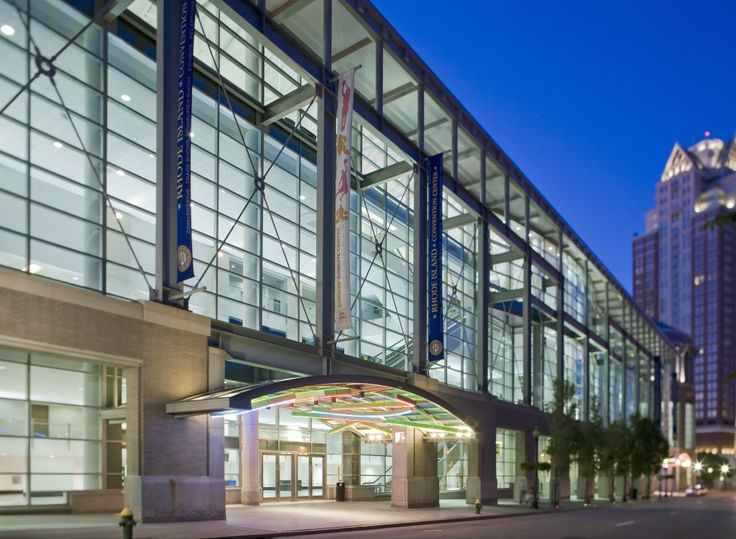 Rhode Island Convention Center,  site of HGA's Convergence 2014 conference.