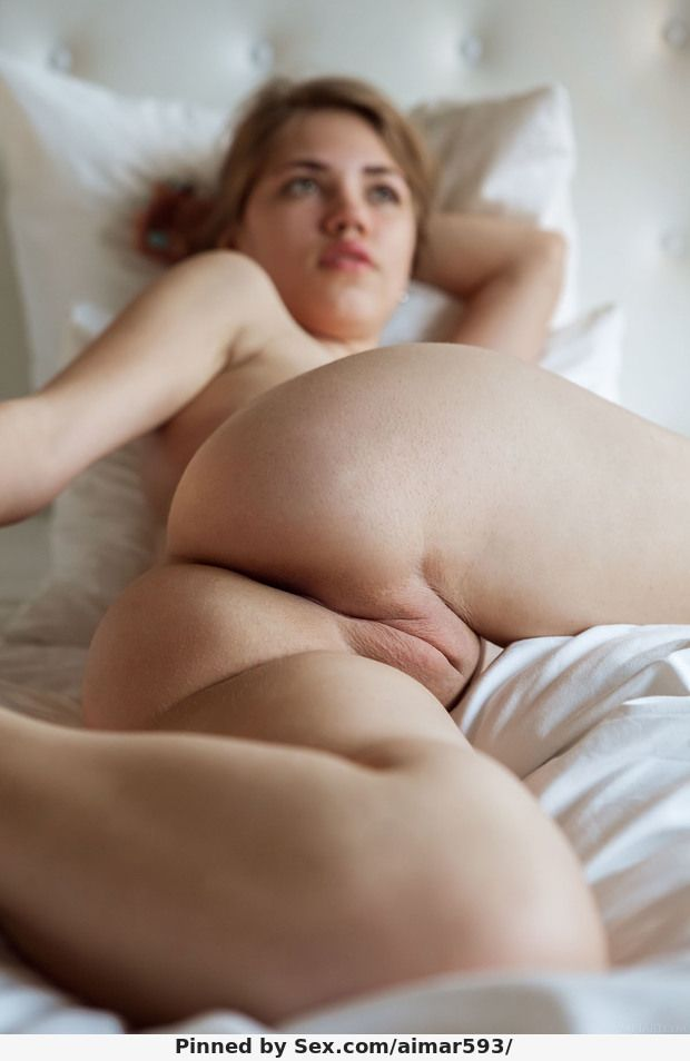 Girl with a hand in their pussy