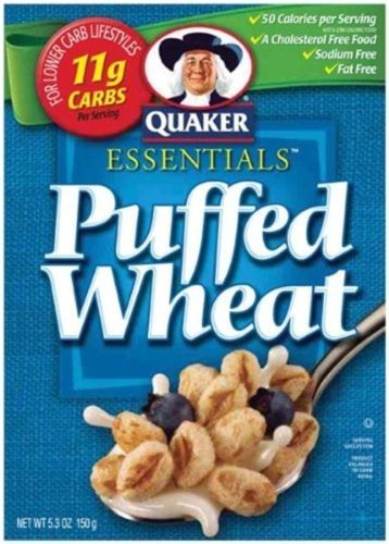 Cereals and Breakfast Foods 62717: Quaker Cereal Puffed Wheat, Pack Of 10, Partno 65623, By Quaker -> BUY IT NOW ONLY: $45.36 on eBay!