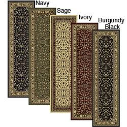 Caroline Sarouk Emerlen Runner (2'2 x 7'7)Need an area rug for the foyer.