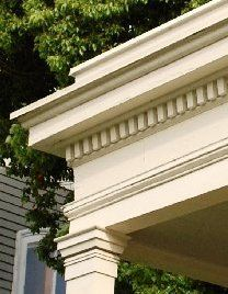 ionic columns and dentil - photo #23
