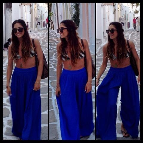Happy and Relaxed in Paros