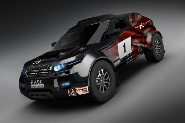 Range Rover Evoque heading to Dakar Rally in 2012 -