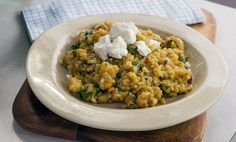 Zoe Bingley-Pullin's Pumpkin and Macadamia Nut Risotto - FoodTV
