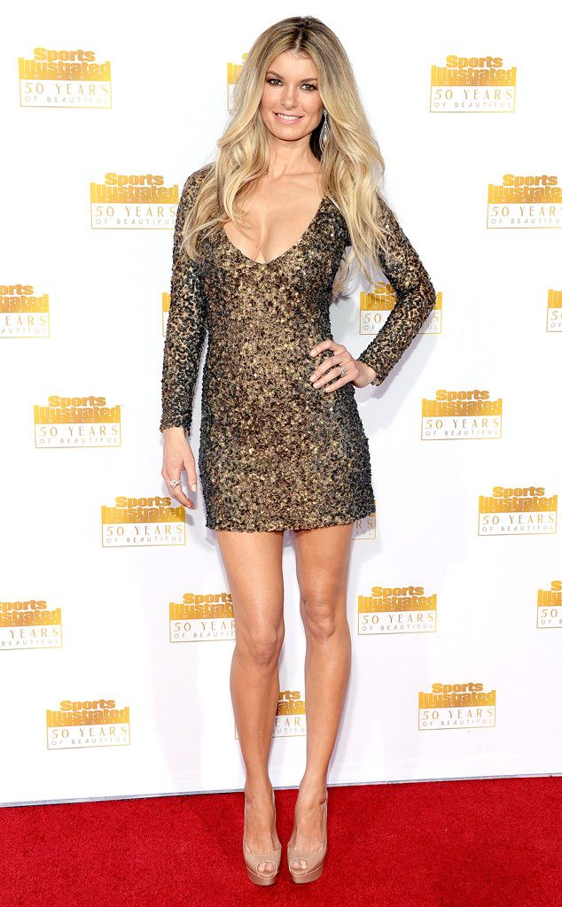 Marisa Miller from Sports Illustrated Swimsuit Issue 50th Anniversary Party   E! Online