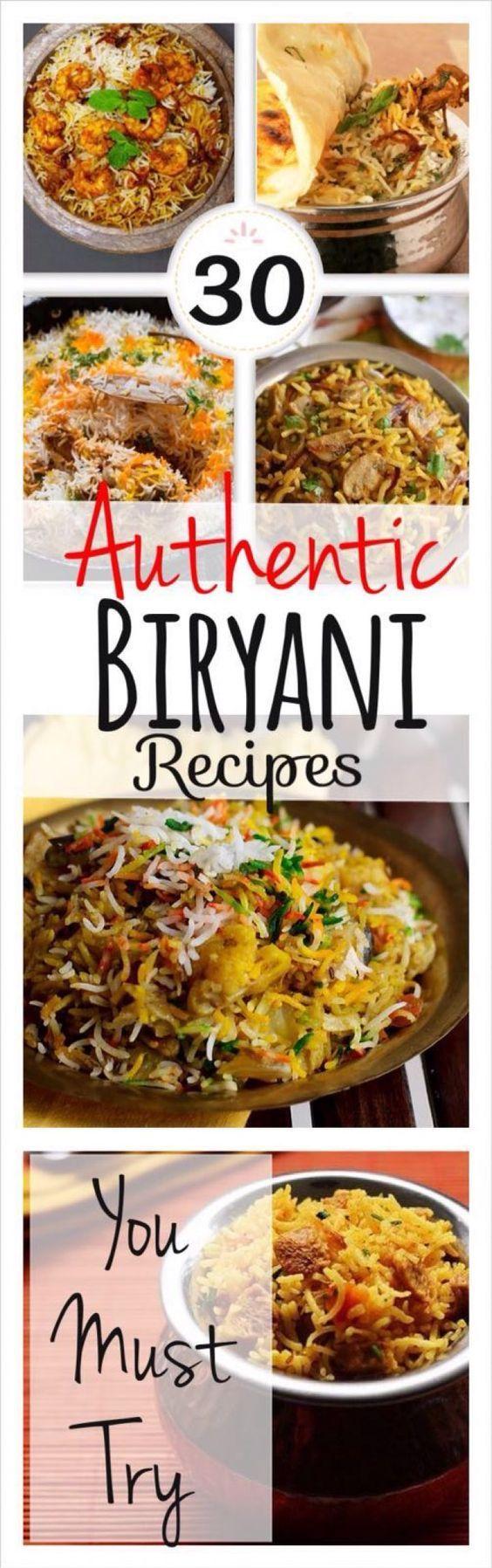 30 Authentic Biryani Recipes