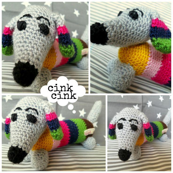 Crochet dashhound