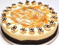 "13"" Orange Poppy Seed Delight Cake"