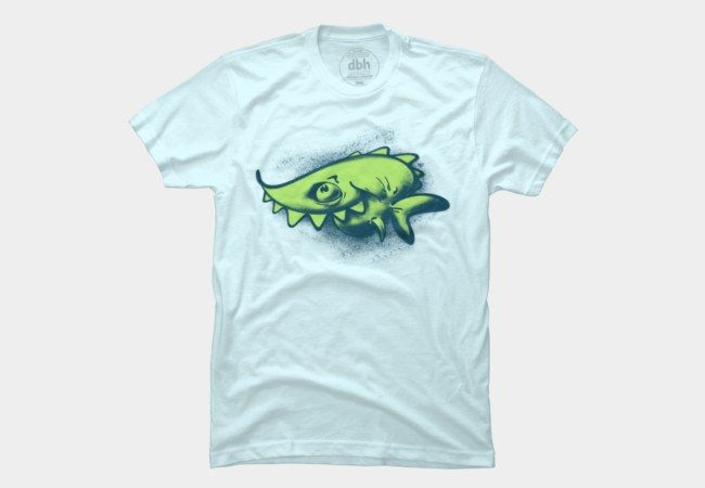 Fishbomb Men's T-Shirt, also on hoodies, phone cases and art prints.