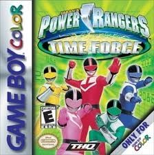Power Rangers Time Force - Game Boy Color Game