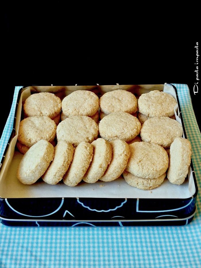 Di pasta impasta: Bianco biscotto di Marco Bianchi