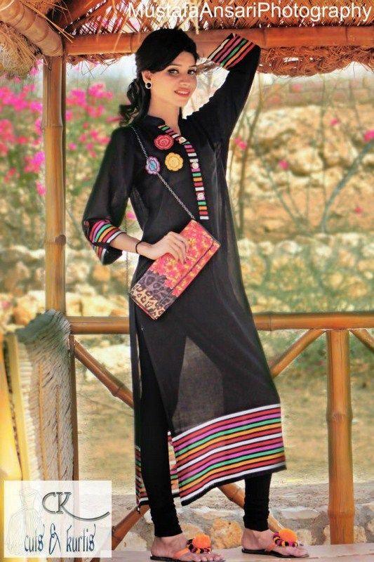 Cuts & Kurtis Summer Dresses 2013 For Women 0017