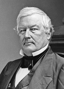 13th President of the United states of America. Millard Fillmore by Brady Studio 1855-65-crop. July 09, 1850-March 04, 1853.