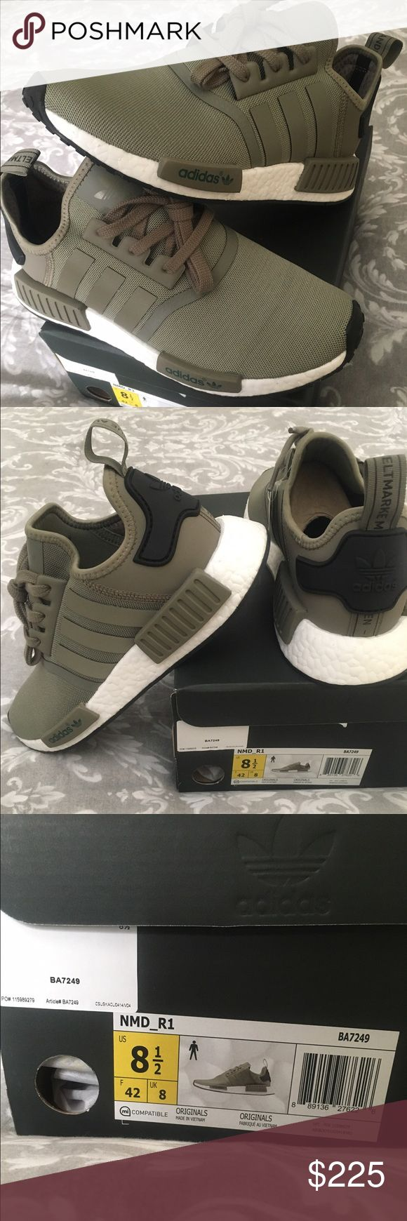 Adidas NMD R1 Trace Cargo Adidas NMD R1 Trace Cargo; new unworn in original box. Ordered from Footlocker Adidas Shoes Athletic Shoes