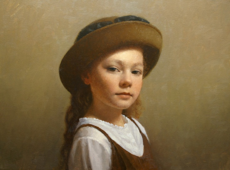 D.W.C. Girl Face - Artist David Gray