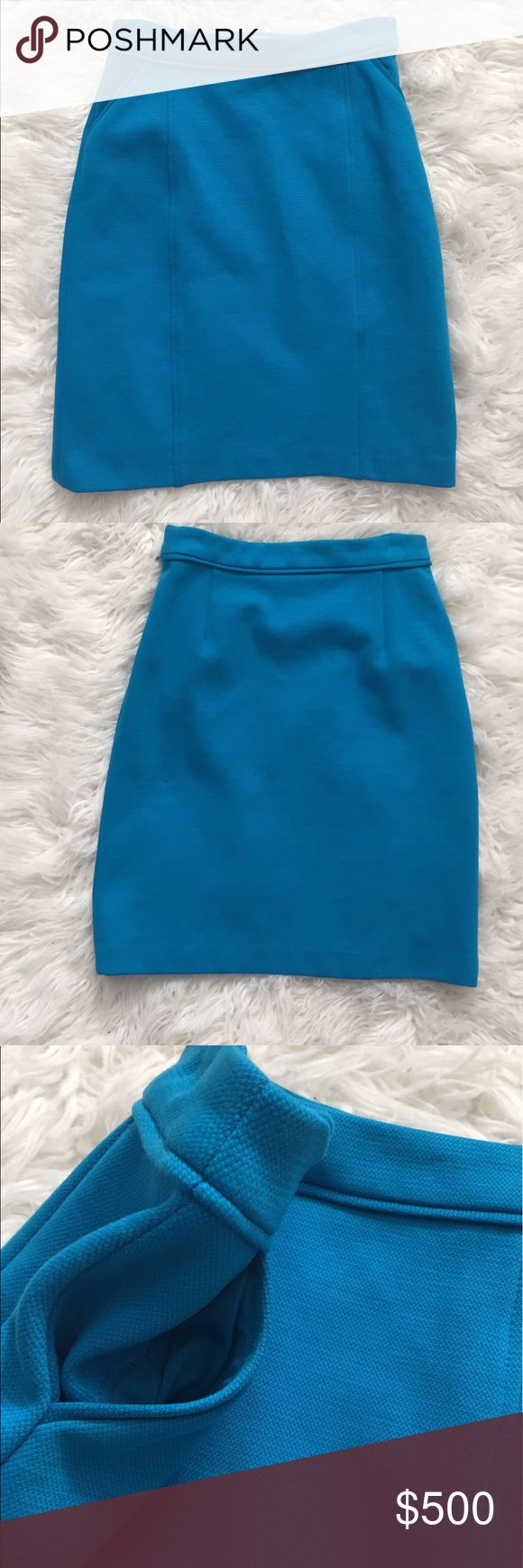 Boden Skirt Worn In Girl Meets World Blue Boden skirt with pockets worn in Girl Meets World. Has a small hole in the back from a pin. Has hanger marks at the top. I do not have a certificate of authenticity but I can provide the production wardrobe tag with the show code. ❤️ #5271703 Boden Skirts