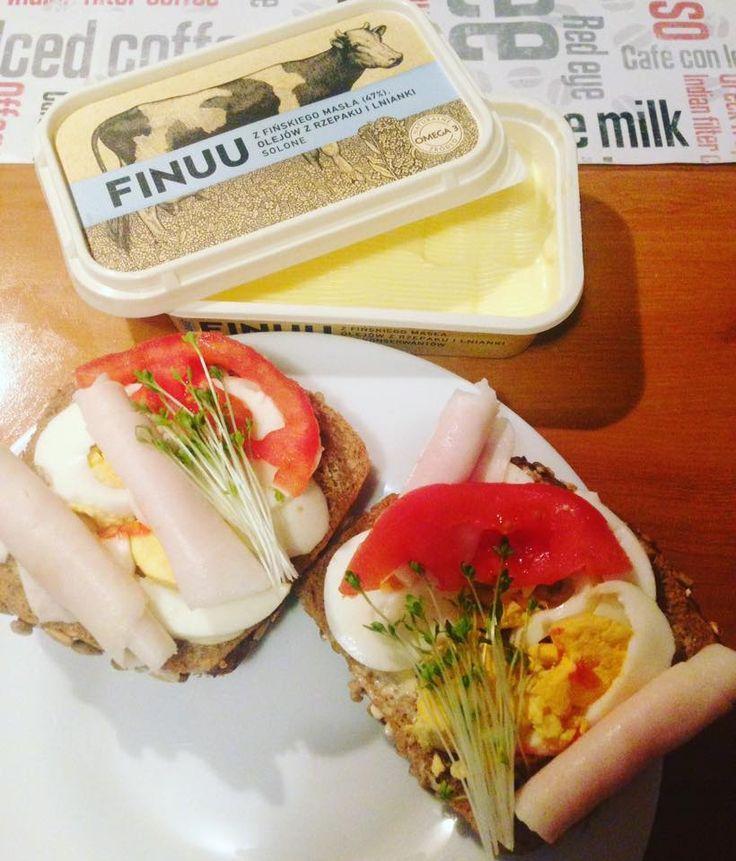 Pyszne, wiosenne kanapki - na idealny początek dnia. @mrsFamess #kanapki #sniadanie #pieczywo #chleb #jajko #maslo #Butter #finuu #finuupl #finland #finlandia #inspiracje #breakfast #sandwich