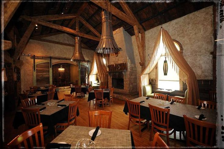 Burntwood Tavern - Enjoy a rustic dining experience set amidst reclaimed natural surfaces.