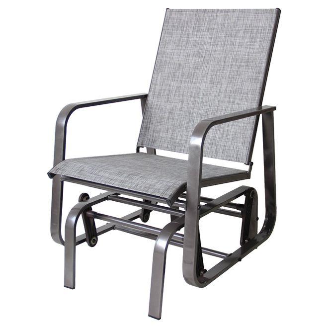 """Manhattan"" Patio Rocking Chair - Grey"