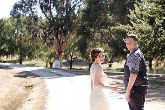 Kate and Jarrod's Casual Country Wedding