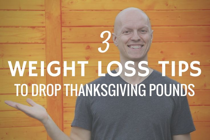 3 Quick Weight Loss Tips to Drop the Thanksgiving Pounds – These three quick weight loss tips will help your body tap into its fat stores to blast off holiday weight gain. They'll also boost your energy and help you lose up to 5 pounds in a week. | Yuri Elkaim