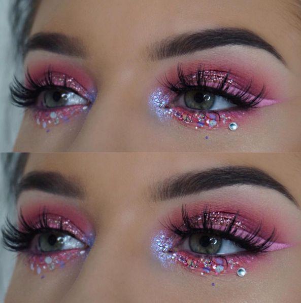 Resultado de imagem para unicorn makeup
