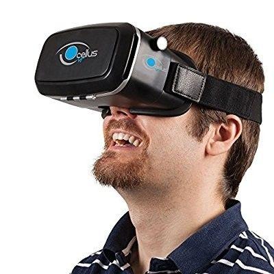 Gafas realidad virtual 3D VR compatibles con iPhone y Android de 4'' a 6''  #gafas3d #realidadvirtual #gafas #regalosparanovios #regalos #regalosoriginales #cumpleaños #sanvalentin #navidades #regaloshombre #regalosmujer #ideasoriginales #gift #party #hombre