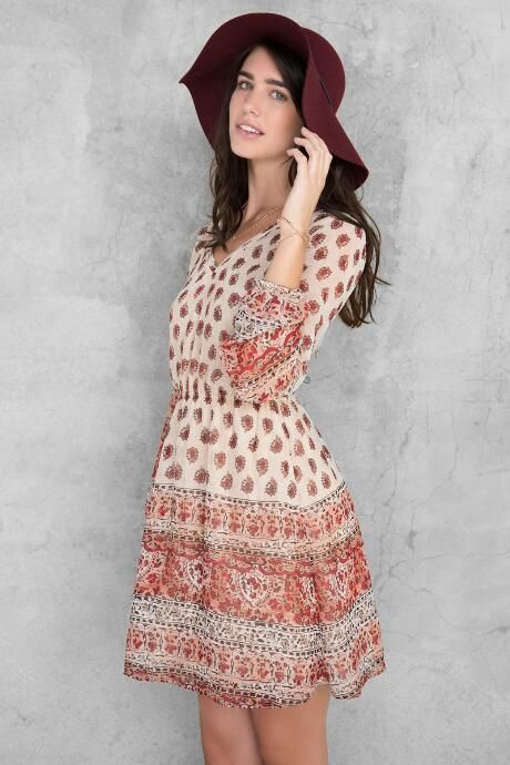 Bristol Paisley Dress