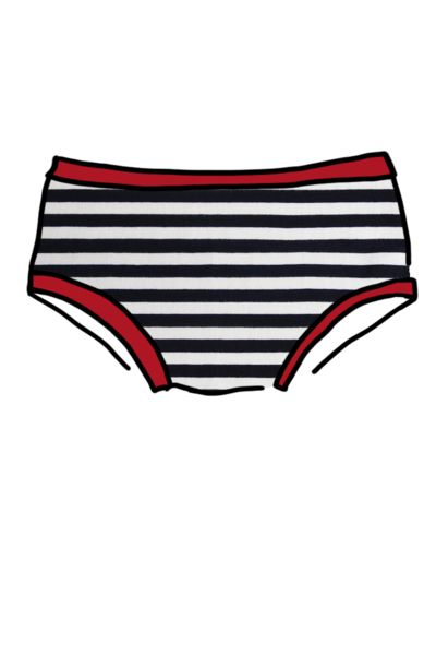 Womens Hipster Pirate Stripe