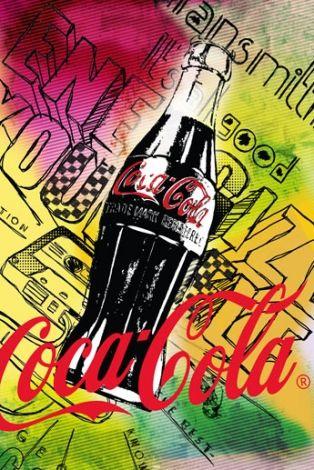 Coca-Cola - 125 Anniversary - plakat - 61x91,5 cm  Gdzie kupić? www.eplakaty.pl