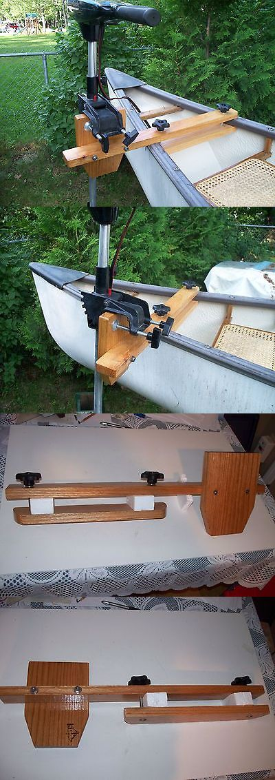 Accessories 87089: Maine Made Oak Canoe Motor Mount -> BUY IT NOW ONLY: $38.95 on eBay!