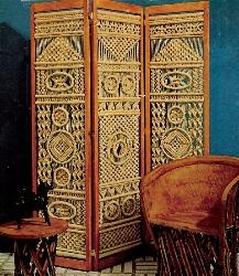Macrame room dividers
