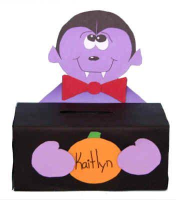 halloween vampire box