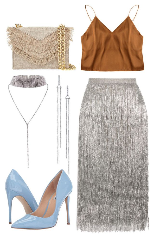 """Untitled #167"" by mayaroger on Polyvore featuring Rachel Zoe, Cynthia Rowley and Steve Madden"