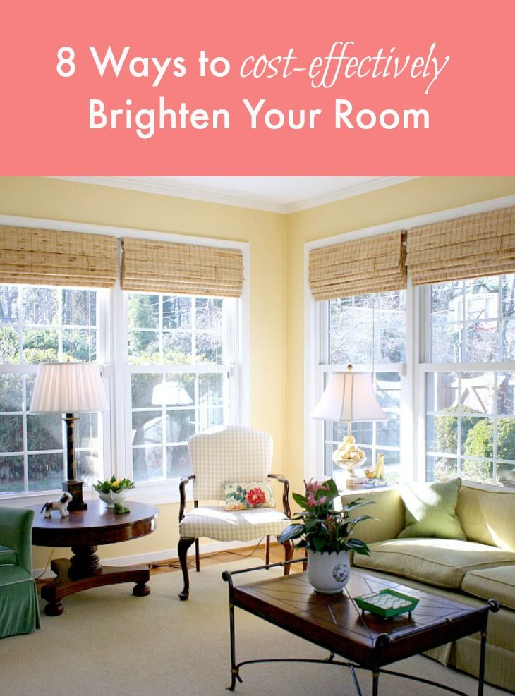 8 Cost-Effective Ways to Brighten a Room - Get the full list from houseplants and a fresh coat of paint to removing your screens.