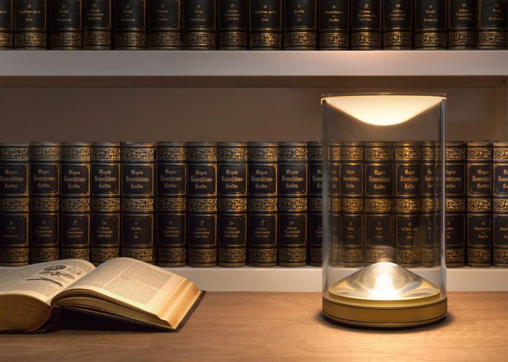 Foster + Partners introduces Eva tabletop light with candle-like glow