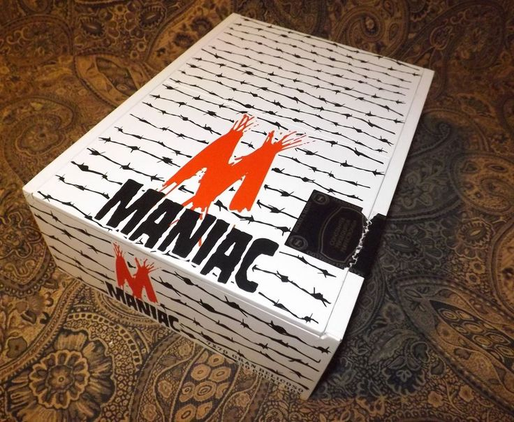 Large Maniac Wooden Cigar Box Crafts Purse  Jewelry Box Storage