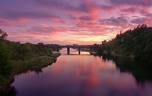 another boring sunset at the american river | Flickr - Photo Sharing!