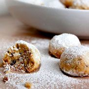 CHRISTMAS NUT BALLS 1 cup butter, room temperature 4 tablespoon ...
