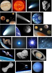 Le système solaire - matériel fiche 2