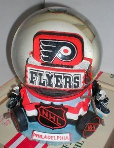 NHL Philadelphia Philly Flyers Hockey Snowglobe Snow Globe Slavic Treasures New | eBay