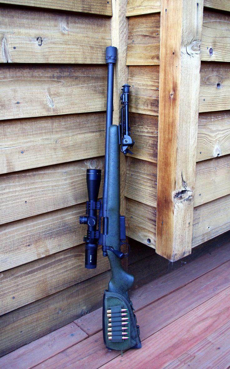 Remington 700 hunting rifle