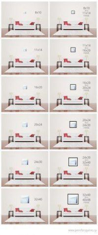 25+ Ideas For Living Room Art Wall Above Couch Can…