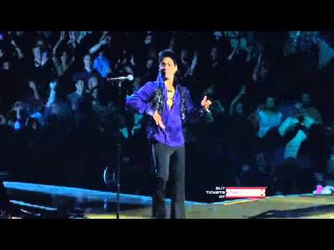 "Exclusive Video: Prince's Welcome 2 America Tour - ""Cool"" & ""Let's Work""  Master at work."