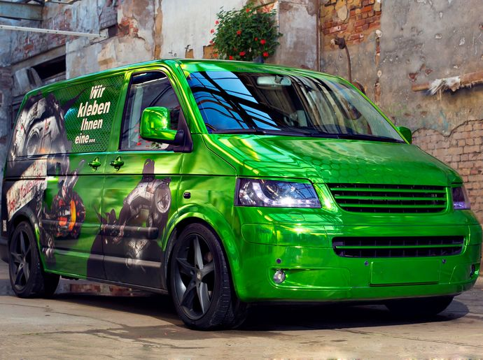 Green Chrome Wrap Car Wrapping Amp Design Inspiration